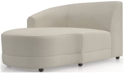 Infiniti Left Arm Chaise shown in Synergy, Oatmeal