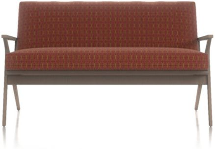 Cavett Loveseat shown in Spindle, Spice