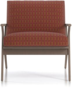 Cavett Chair shown in Spindle, Spice