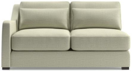 Verano II Left Arm Loveseat shown in Traxx, Cloud