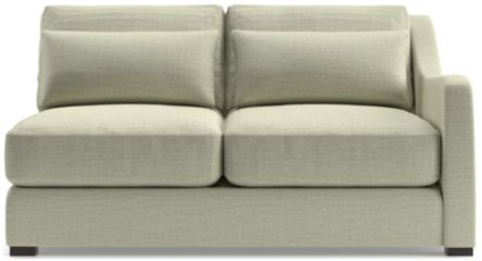 Verano II Right Arm Loveseat shown in Traxx, Cloud