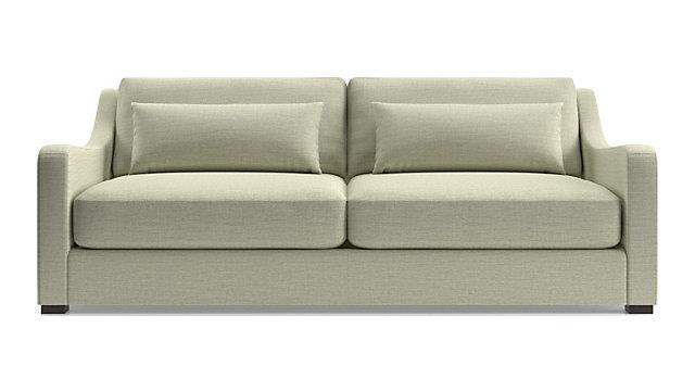 Verano II Slope Arm Sofa shown in Traxx, Cloud