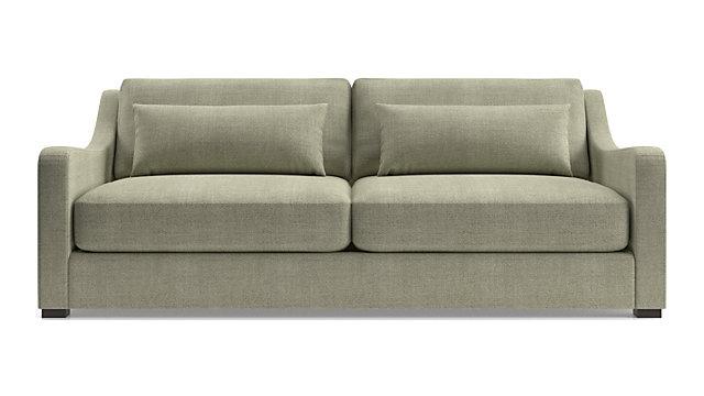 Verano II Slope Arm Sofa shown in Traxx, Bark