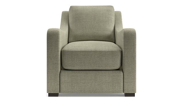 Verano II Slope Arm Chair shown in Traxx, Bark
