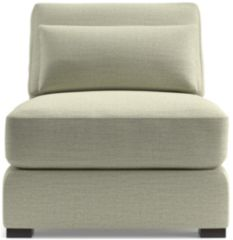 Verano II Armless Chair shown in Traxx, Cloud