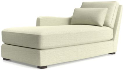 Verano II Left Arm Chaise shown in Traxx, Cloud