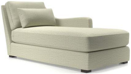 Verano II Right Arm Chaise shown in Traxx, Cloud