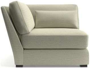 Verano II Corner Chair shown in Traxx, Cloud
