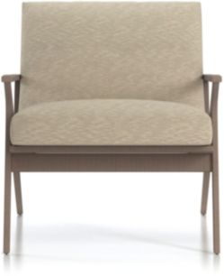 Cavett Wood Frame Chair shown in Dandy, Twine