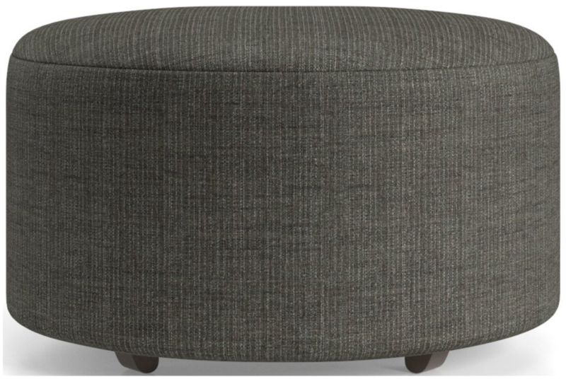 Syd 28 Quot Round Cocktail Ottoman Reviews Crate And Barrel
