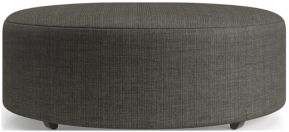 "Syd 44"" Round Cocktail Ottoman shown in Mystic, Stout"