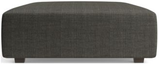 """Syd 44"""" Square Cocktail Ottoman shown in Mystic, Stout"""