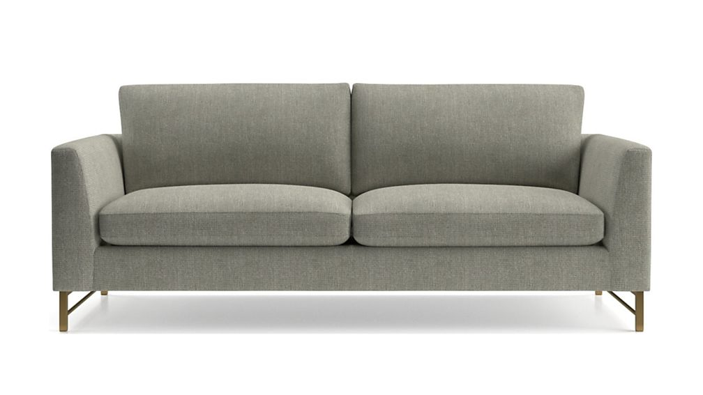 Tyson Sofa with Brass Base - Image 2 of 6