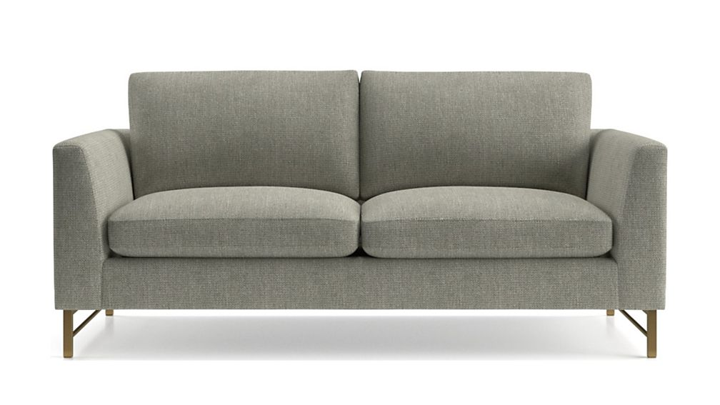 Tyson Apartment Sofa with Brass Base - Image 2 of 6