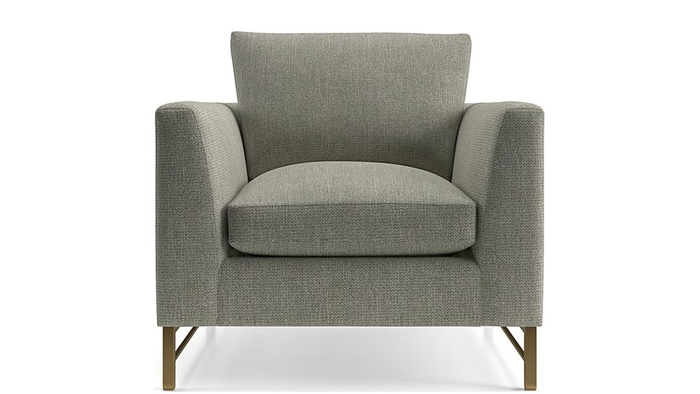Tyson Chair with Brass Base - Image 2 of 6