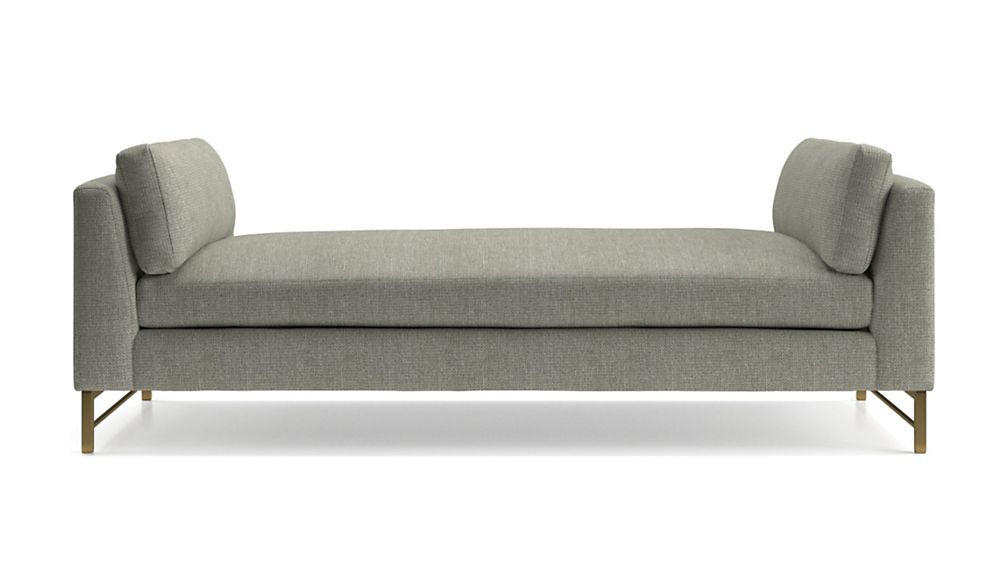 Tyson Daybed with Brass Base - Image 2 of 6