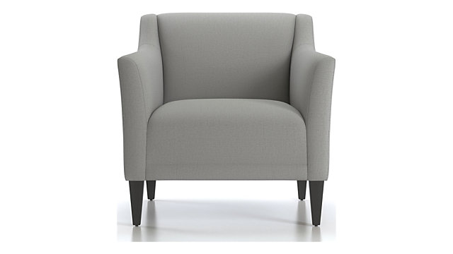 Margot II Tight Back Chair shown in Portrait, Alloy
