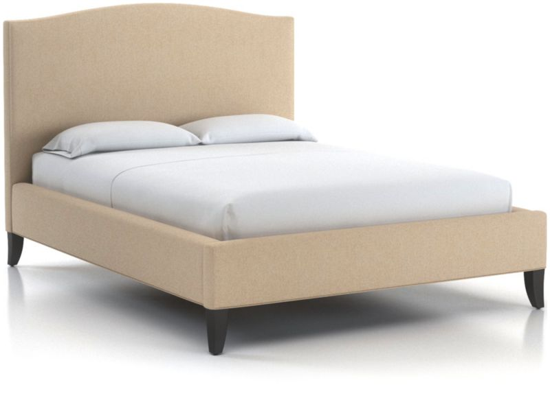 Colette Queen Upholstered Bed Without Nailheads 52 5