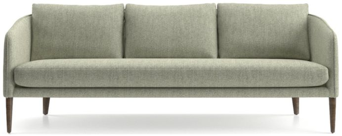 Rhys Bench Seat Sofa shown in Flex, Mineral