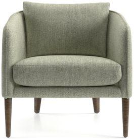 Rhys Bench Seat Chair shown in Flex, Mineral