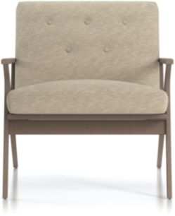 Cavett Tufted Chair shown in Dandy, Twine