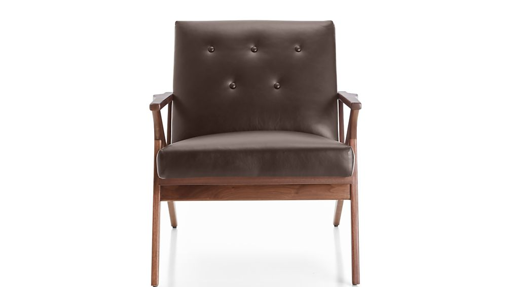 Cavett Leather Tufted Chair - Image 2 of 8
