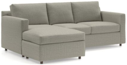 Barrett Reversible Sectional shown in Galaxy, Ash