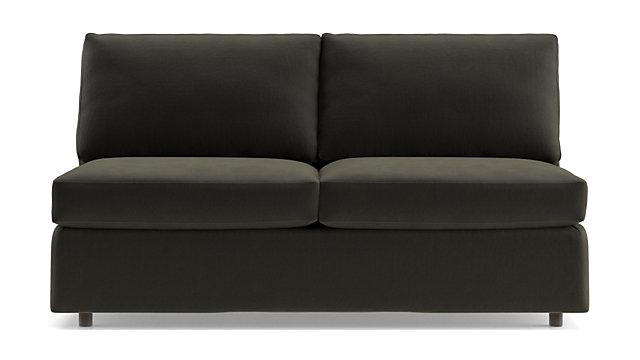 Strange Barrett Armless Loveseat Cjindustries Chair Design For Home Cjindustriesco