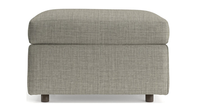 Barrett Ottoman shown in Galaxy, Ash