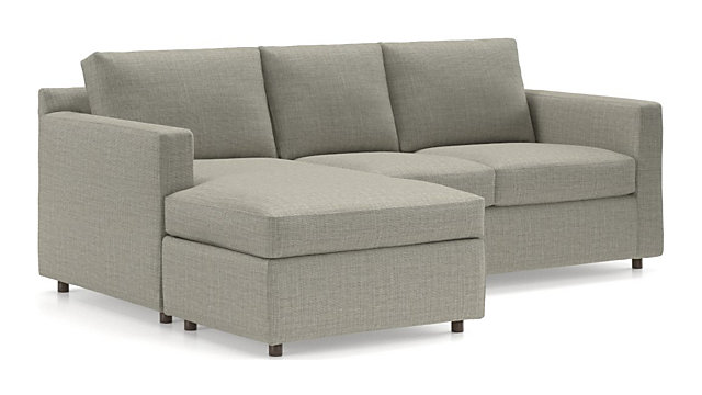 Marvelous Barrett 3 Seat Queen Reversible Sleeper Sectional Bralicious Painted Fabric Chair Ideas Braliciousco