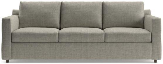 Barrett 3-Seat Track Arm Sofa shown in Galaxy, Ash