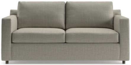 Barrett Track Arm Apartment Sofa shown in Galaxy, Ash
