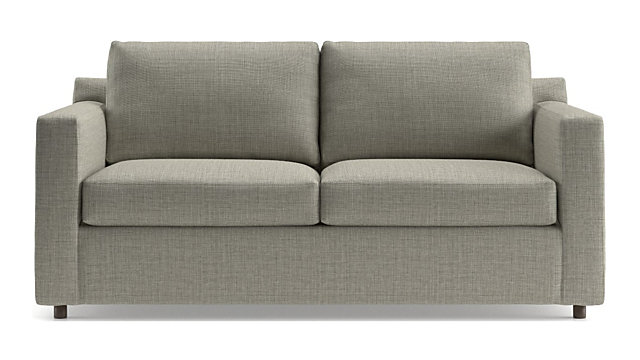 Barrett Track Arm Apartment Sofa shown in Galaxy, Ash