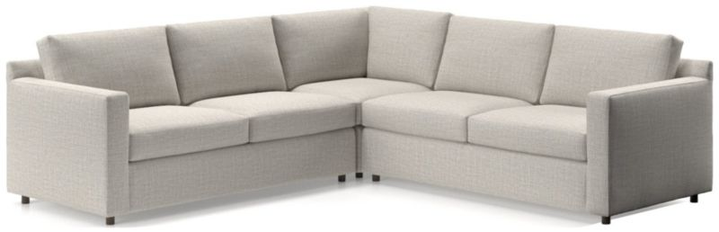 TAP TO ZOOM Barrett 3 Piece Sectional(Left Arm Apartment Sofa, Corner,  Right Arm Apartment
