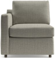 Barrett Left Arm Chair shown in Galaxy, Ash