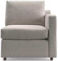 Barrett Right Arm Chair shown in Galaxy, Ash