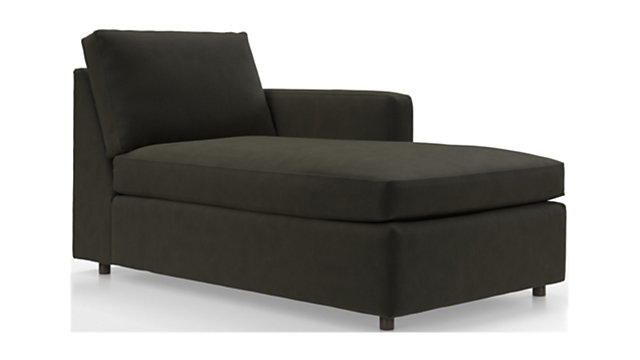 Barrett Right Arm Chaise shown in View, Otter