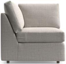Barrett Corner Chair shown in Galaxy, Ash