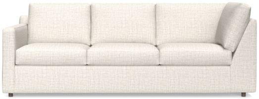 Barrett Left Arm Corner Sofa shown in Galaxy, Ash