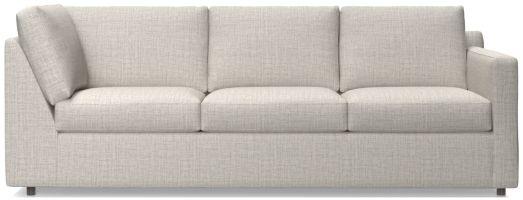 Barrett Right Arm Corner Sofa shown in Galaxy, Ash