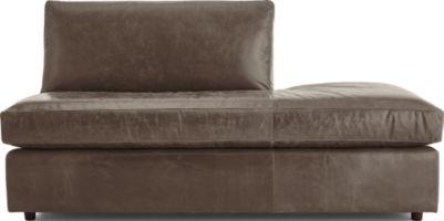 Barrett Leather Right Bumper shown in Libby, Storm