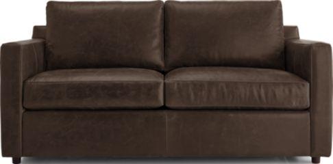 Barrett Leather Full Sleeper shown in Libby, Storm