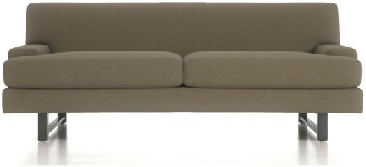 Pierce Tightback Apartment Sofa shown in Emma, Fawn