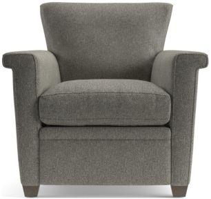 Declan Chair shown in Tobias, Gravel