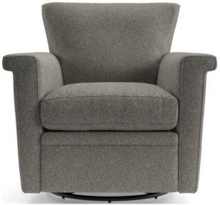Declan 360 Swivel Chair shown in Tobias, Gravel