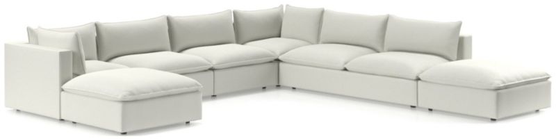 Lotus Modular 7 Piece Sectional by Crate&Barrel