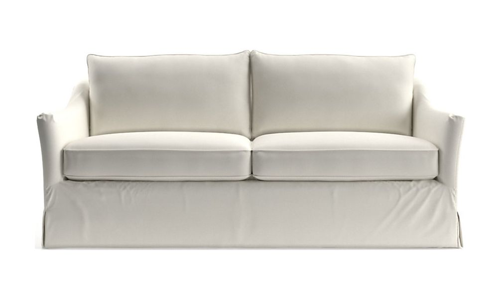 Keely Slipcovered Apartment Sofa - Image 2 of 5