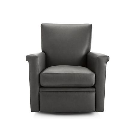 Superb Declan Leather 360 Swivel Recliner Theyellowbook Wood Chair Design Ideas Theyellowbookinfo