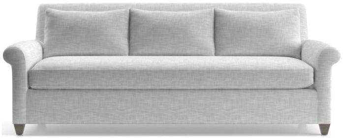 Cortina Sofa shown in Winward, Snow