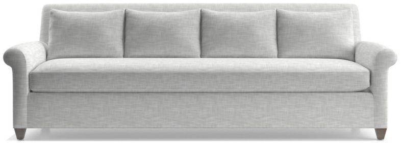 "Cortina 102"" Grande Sofa shown in Winward, Snow"